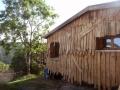 Maison des Roches - façade bardée côté est