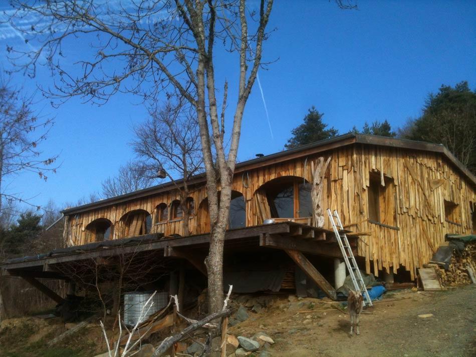 La Maison Bois Paille : L'Exemple De La Maison Des Roches
