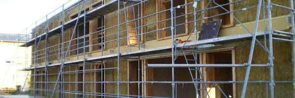 Immeuble collectif de deux étage ossature bois