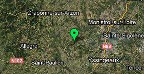 Carte Haute Loire